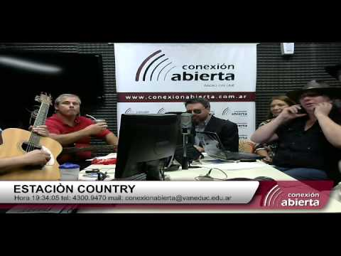 estación country  02/06 por radio conexión abierta
