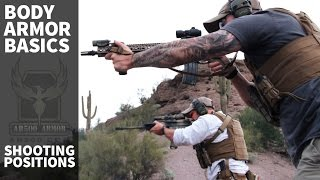 Plate Carrier & Body Armor Basics (Part 4) - Shooting Positions with body armor