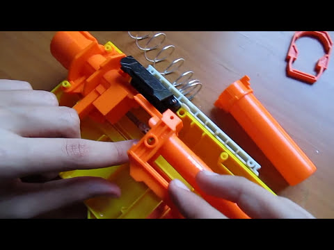 Mods - Como modificar la NERF RECON CS-6