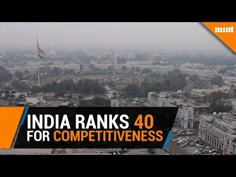 India improves on WEF's global competitiveness rankings