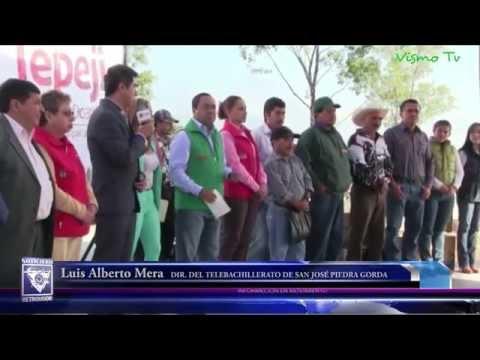 Fernando Miranda entregó mobiliario para telebachilleratos comunitarios en Tepeji
