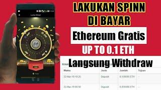 Dapatkan 0.02 - 0.1 ETH || Dari Aplikasi ByteHub / Byte Trade | Apk Penghasil Dollar & Bitcoin