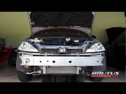 Ford Focus 1.6 Zetec Rocam Flex Turbo Intercooler - Parte 2 Final