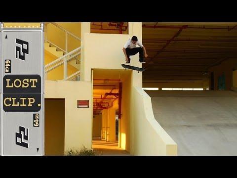 Danny Fuenzalida Lost Skateboarding Clip #28 Miami