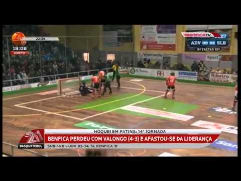 Esc�ndalo em Valongo | H�quei em Patins | Benfica vs Valongo 2014
