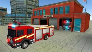 NY City FireFighter 2017 - Android GamePlay HD - Fire Trucks For Kids and Ambulance Siren Games