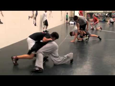 Advantage Wrestling Drills Image 1