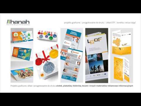 Reklama Projekty Graficzne Fotografia Legnica Hanah Studio