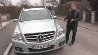 Mercedes GLK - Kantiger Charaktertyp