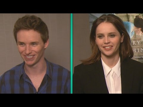 Eddie Redmayne and Felicity Jones' Oscar Nomination Reactions Are Adorable!