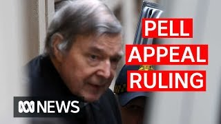 Pell appeal ruling in full: Inside the courtroom where Pell learnt his fate | ABC News