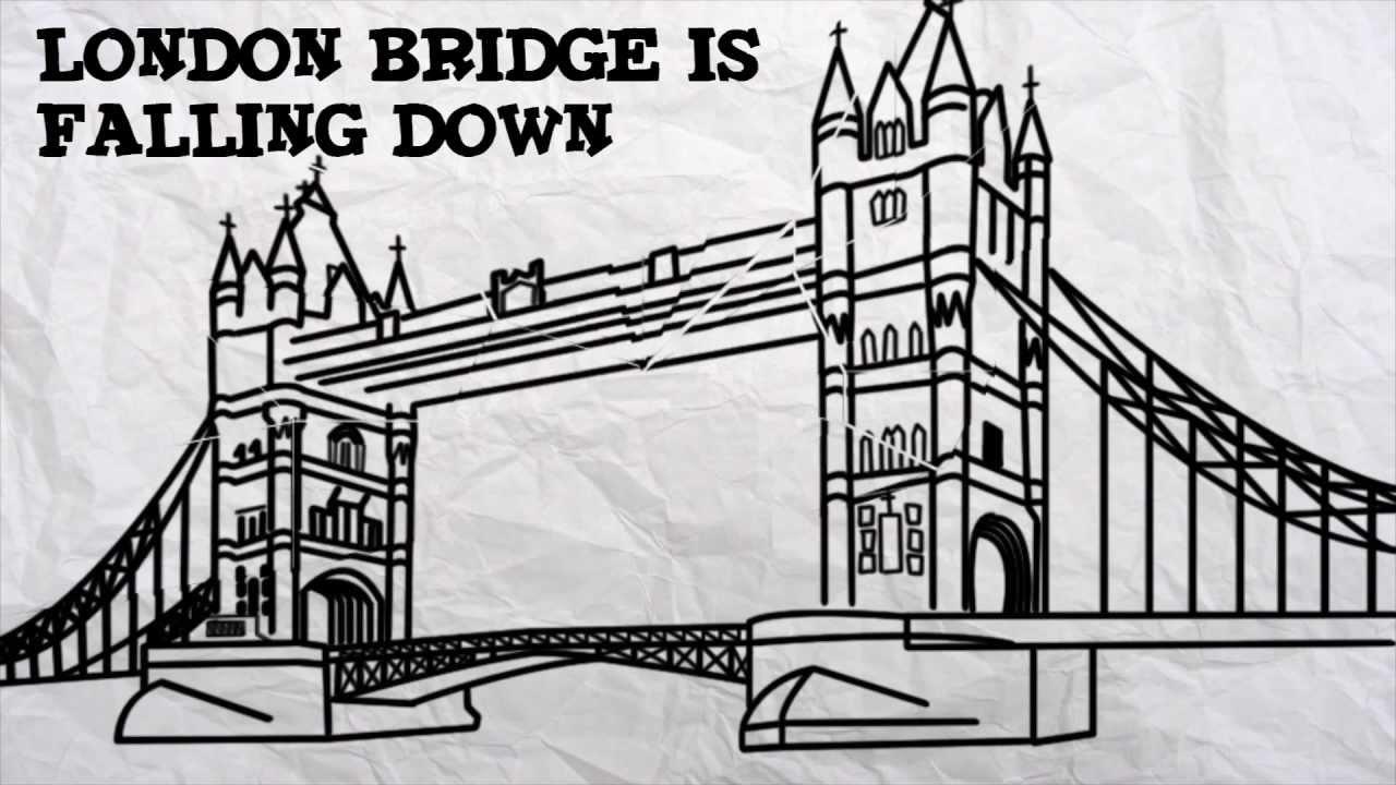 london bridge is falling down lyrics pdf