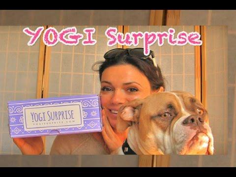 Yoga Box GIVEAWAY Unboxing YogiSurprise Jewelry