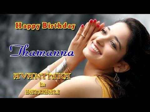 Bahubali Avanthika - Wishing Tamanna Happy Birthday Hd video