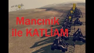 MANCINIK İLE KATLİAM !!! (A LOT OF CATAPULT) ATTILA TOTAL WAR