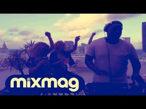 Kevin Saunderson on Location in Miami in the Mixmag DJ Lab