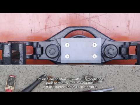 Automatische Kupplung für den «5L»-Demonstratorzug