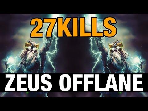 ZEUS OFFLANE - FoREv WITH 27 KILLS - Dota 2