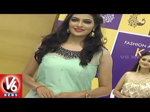 Models Ramp Walk At Sutraa Fashion Exhibition Curtain Rise Event | Hyderabad | V6 News