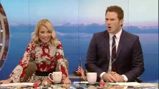 Chris Pratt Accidentally Gives Away Travel Trivia Prize
