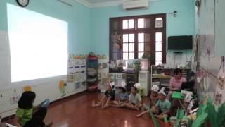 Các bé lớp Họa Mi học kỹ năng phòng tránh xâm hại tình dục ở trẻ em