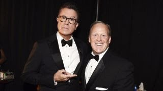 Emmys get political as Trump dominates awards show