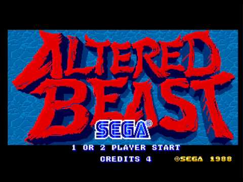 Altered Beast Game Over Altered Beast Arcade Game
