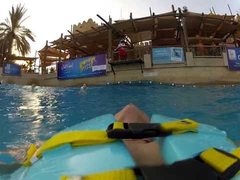Wild Wadi Waterpark Dubai 2013 video