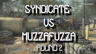 The RAMBO Challenge - Syndicate VS MuzzaFuzza  - Round 2! (Call Of Duty Ghosts)