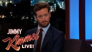 Armie Hammer Almost Missed His Baby