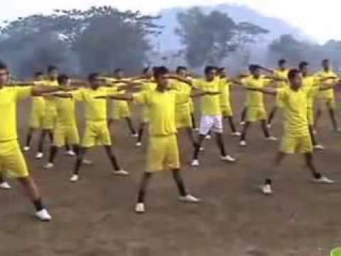 Physical Training, Private Security Training Centre, Boko Assam