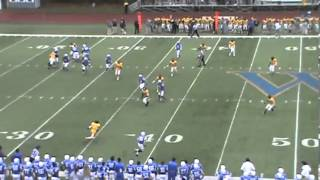 Widener University's Connor Schlegel's Catch vs. Delaware Valley (Nov. 10, 2012)