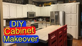 How to paint kitchen cabinets (DIY cabinet painting)