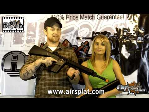 AirSplat OD - A&K & JG SR-25 Airsoft Electric Gun Rifle Reviews Ep 23