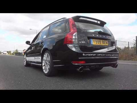 Volvo V50 D5 With Milltek Performance Exhaust System From