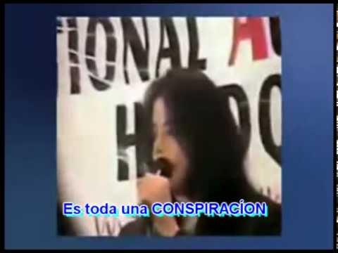 Michael Jackson le dice al mundo que la humanidad es manipulada por la elite illuminati.