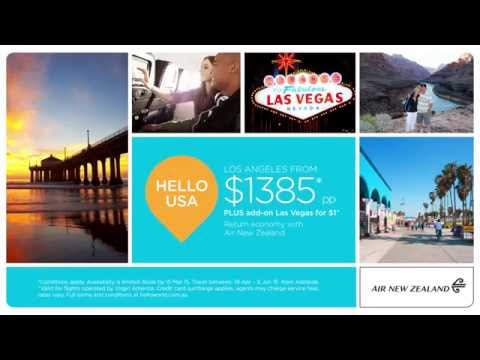 Hello America with Air New Zealand – SA