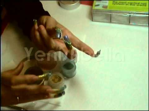YenisAbella Double Blue Nail DUAL SYSTEM FORMS+plus SUPER Nail Art  !!!!!YsNailS