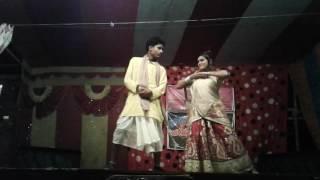 Maithili  dans  program   (Anil Yadav)