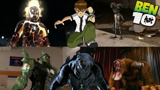Ben 10 Aliens in real life Transformation's    Alien Swarm And Race Against Time