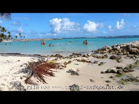 Guadeloupe, Pointe a Pitre/Ste Anne Beach, Teil 18: AIDAluna Kreuzfahrt Karibik (12/2013)