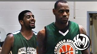 LeBron James RETURNS To Cleveland To Team Up With Kyrie Irving! streaming