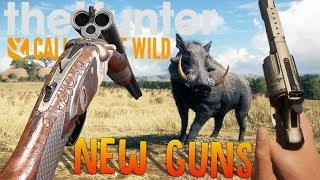 The Hunter - New Tri-Barrel Shotgun Rifle Hybrid, Pistol Shotgun & Aggressive Animals - Hunter COTW