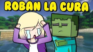 NOS ROBAN LA CURA PARA EL ZOMBIE | Minecraft Roleplay 12