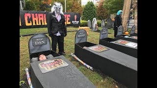A spooky look inside Six Flags' 30-Hour Coffin Challenge