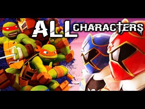 Battle Ninja Turtles vs Power Rangers. Morph Mutant Ninja Turtles vs Power Rangers fight gameplay