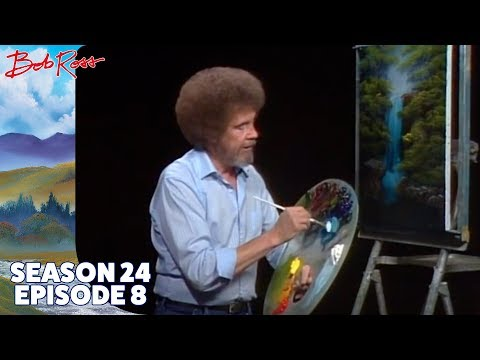 Bob Ross - Graceful Waterfall (Season 24 Episode 8)