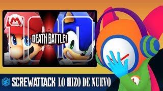 Desmintiendo a la Death Battle (Mario vs. Sonic, y etc.)