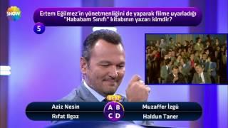 Ali Sunal'ı duygulandıran soru!