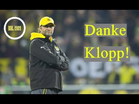 Jürgen Klopp - Thank you! | Borussia Dortmund 2014/15